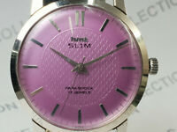 Vintage Hmt Slim Mens Analog Dial Mechanical Hand Winding Wrist Watch OG194