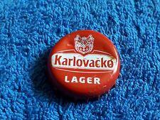 Tappo a corona da collezione KARLOVACKO LAGER crown bottle cap
