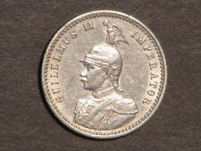 GERMAN EAST AFRICA 1891 1/4 Rupie Silver XF