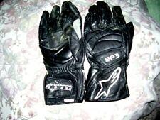 Vintage motorcycle gloves guanti moto in pelle alpinestars SP3 size XL