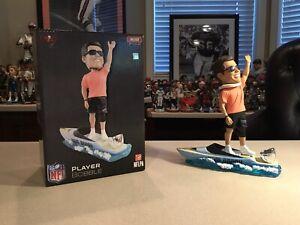 Tom Brady Tampa Bay Buccaneers G.O.A.T Boat 2021 Super Bowl Champions Bobblehead