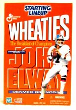 Starting Lineup Wheaties Box John Elway 1999 Figure W/ Medallion & Card Denver