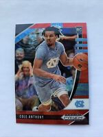 2020-21 Panini Prizm Draft Picks Cole Anthony Red Wave RC Magic #9