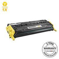 Yellow Toner Cartridge for HP 124A Q6002A LaserJet 1600 2600n 2605dn CM1017mfp