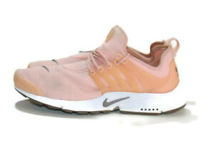 Nike Sneakers Pink White Gray Air Presto Storm Pink Casual Running Womens 10