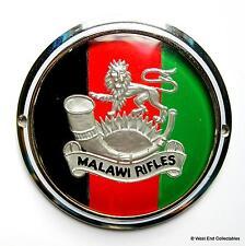Vintage années 60 badge voiture-les fusils Malawi-Force de Défense Malawien badge
