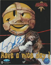 MANKIND Signed 8 x 10 Color Photo AUTOGRAPH w/ TriStar COA WWE ECW Mick Foley