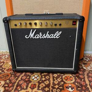Vintage 1980s Marshall Master Reverb 30 Model 5203 1x12 Guitar Amplifier Combo