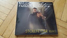 MYLENE FARMER & sting-stolen car remixé MAXI CD still sealed!!!