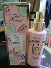 Too faced dew you fresh glow setting spray new in box full size 3.40oz no cap