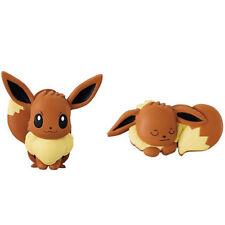 Pokemon Hasamundesu Clip Figure EEVEE 2pc Set Memo Holder Bandai Nintendo Ultra