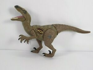 Jurassic World Velociraptor Blue Electronic Growling Attack Hasbro 2015 Raptor