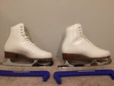 Riedell Size 8 Medium Model 220 Ice Skates Great Condition Women's Ladies Girls