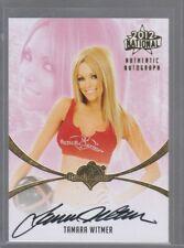 Tamara Witmer 2012 BenchWarmer National SP Auto Autograph Playboy Playmate
