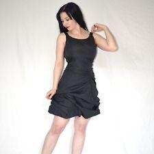 Gothic schwarzes PARTYKLEID gerafft* S 36 * Cocktailkleid* Abendkleid* Minikleid