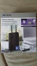 Belkin F5Z0103uk Wireless Starter Kit ADSL2/2+ Modem Router + USB N Wifi Adaptor
