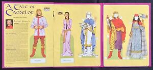 A Tale of Camelot Mag. Paper Doll by Tom Tierney, Mag. PD. 2003