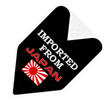 ## JDM WAKABA BADGE IMPORTED FROM JAPAN Car Decal Flag not vinyl sticker ##