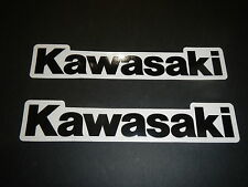 Two Kawasaki Universal Tank Swingarm Fork Stickers Decals KXF 250 450 KLX 110