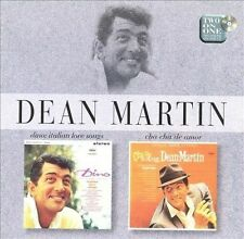 DEAN MARTIN Dino Italian Love Songs / Cha Cha De Amor CD OOP EMI UK 1997