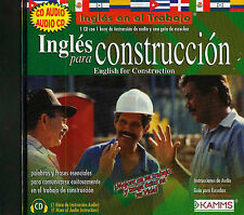 Ingles para Construccion Jewel Case by Kamms (2006, CD)