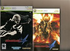 Devil May Cry 4 Collector Xbox 360/x box 360 Steel Book
