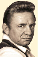 JOHNNY CASH - complete counted cross stitch kit *Jann Designs