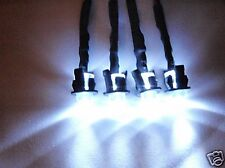 RC LED Lights Headlights Traxxas, Slash, Jato, HPI, Losi E-Revo, E-Maxx  4W P