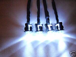 RC LED Lights Headlights Traxxas, Slash, Jato, HPI, Losi E-Revo, E-Maxx  4W P