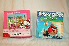 Puzzle lot child Mattel Pressmanren's Hello Kitty Angry Birds