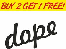 Dope Drift Graphic Camper 4x4 Cars Decal Windows Funny Sticker Graphic Vinyl Car