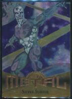 1995 Marvel Metal Trading Card #18 Silver Surfer