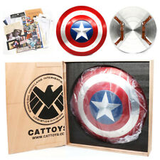 More details for marvel new captain america falcon 22'' metal 1:1 shield cosplay prop model gift