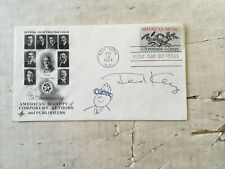 Ted Key Hazel Signed first day cover with sketch of Hazel