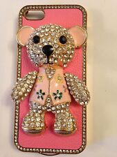 ❤️Teddy Bear iPhone Case 🐻 for iPhone 5 - Beautiful Rhinestones Bling! ~ NEW❤️