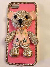 ❤️Teddy Bear iPhone Case �� for iPhone 5 - Beautiful Rhinestones Bling! ~ NEW❤️