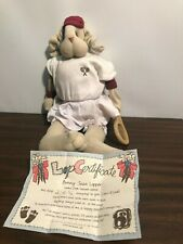 "Vintage Little Lops Bunny 1997 ""Bunny Jean Lopper� Tennis Rabbit Collectible"