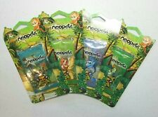Neopets Booster Blister Pack Mystery Island Full Art Set Sealed with Code Cards