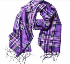 Pierre Cardin Acrylic Scarf Purple Men Women Gift Accessories Made in Italy
