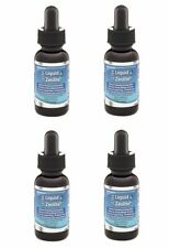 Ultra Liquid Zeolite Enhanced with DHQ, FOUR 1 oz vegan liquified not powder