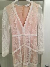 Fashion Party celebrity Style missguided lace dress size 8
