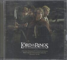 Lord of the Rings  - The Lord of the Rings fellowship of the ring soundtrack CD