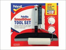Polycell-SmoothOver tool set roller & dissipateur de