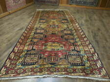 C1930 Vg Dy Caucasian Antique Karache Serapi Heriz Viss 5x11 Estate Sale Rug