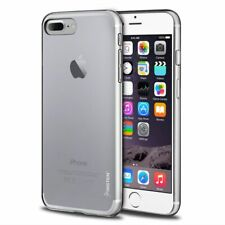 For iPhone 7 8 Plus SE 2 Crystal Clear Gloss Soft TPU Gel Rubber Shockproof Case