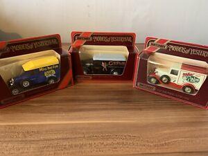 Matchbox Models of Yesteryear (x3) - Y12 GMC - Y19 Morris - Y22 Ford Model A