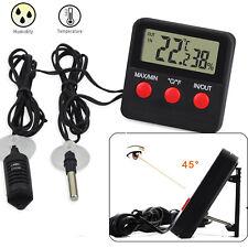 Digital LCD Thermometer Hygrometer Humidity Meter Room Indoor Temperature Tester