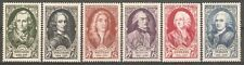 France - 1949 National Relief Fund - 18th Cent. Celebrities ( Cat.£39.00p ) MNH