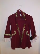 Disney Cruise Line Captain Hook Costume Peter Pan Pirate Jacket