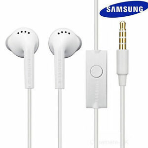Samsung Genuine Handsfree Headphones / Earphones White EHS61ASFWE - NEW